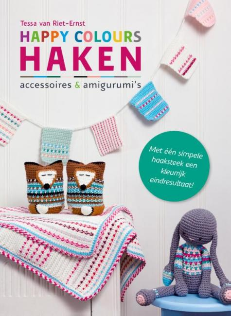 Cover Happy Colours haken